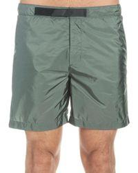 58f65c45aaf37 Stone Island Logo-Detail Swim Shorts in Blue for Men - Lyst