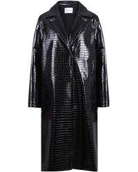 Stand Studio Emerson Embossed Coat - Black
