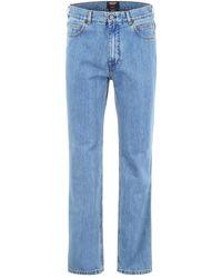 CALVIN KLEIN 205W39NYC Jaws Print Jeans - Blue