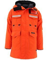 Junya Watanabe X Canada Goose Hooded Coat - Orange