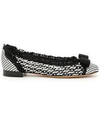 Ferragamo - Varina Flat Shoes - Lyst