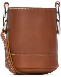 Simon Miller Caramel Leather Bonsai 15 Bucket Bag Nd - Brown