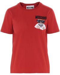 Moschino Teddy T-shirt - Red
