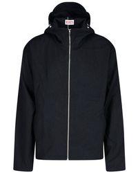 EDEN power corp Zip-up Hooded Jacket - Black