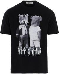 Undercover Men's Uc1a3804black Black Cotton T-shirt