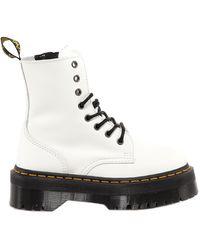 Dr. Martens Jadon Platform Boots - White