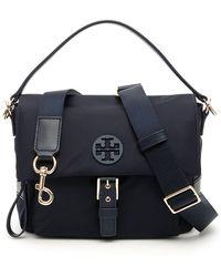 5f17f50ec5 Tory Burch Marsden Swingpack Leather Crossbody Bag - Lyst