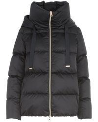 Herno Puffer Hooded Jacket - Blue