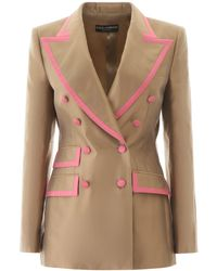 Dolce & Gabbana - Double-breasted Blazer - Lyst