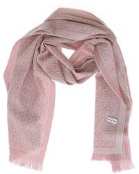 Ferragamo Gancini Scarf - Pink