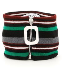 JW Anderson Striped Wool Neckband - Multicolor