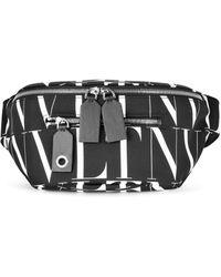Valentino Vltn Times Belt Bag - Black