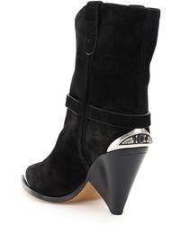 Isabel Marant Lamsy Metal-insert Boots - Black