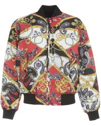 Versace Jeans Couture Reversible Bomber Jacket - Multicolour