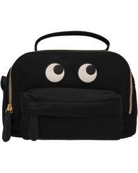 Anya Hindmarch Eyes Crossbody Bag - Black