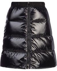 Moncler Padded Front Zip Skirt - Black
