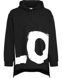 Burberry Oversize Cotton Hoodie - Black