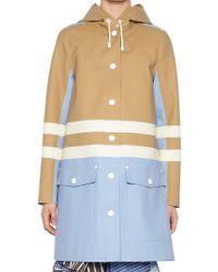 Marni - X Stutterheim Colour Block Raincoat - Lyst