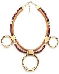 Chloé - Sawyer Ring Necklace - Lyst