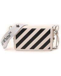 Off-White c/o Virgil Abloh Diag Mini Flap Crossbody Bag - Multicolor