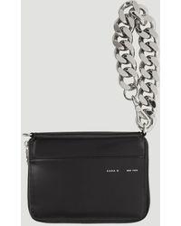 Kara Large Bike Wristlet Wallet - Black