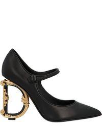 Dolce & Gabbana Mary Jane Pumps - Black