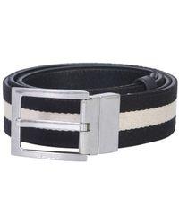 Bally Reversible Tonni Belt - Blue