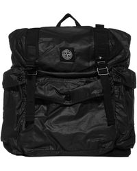Stone Island Utility Backpack - Black
