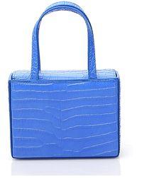 AMINA MUADDI Super Amini Giorgia Mini Tote Bag - Blue
