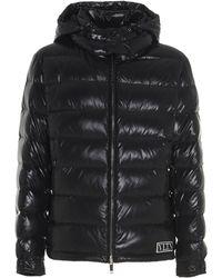 Valentino Vltn Tag Down Jacket - Black