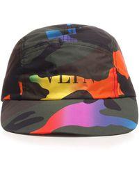 Valentino Garavani Polyamide Hat - Green