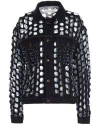 Maison Margiela S29am0364s30617967 Outerwear Jacket - Blue
