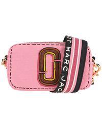 Marc Jacobs The Trompe L'oeil Snapshot Crossbody Bag - Pink