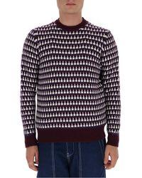 Prada Jacquard Sweater - Multicolour