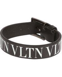 Valentino - Garavani Vltn Logo Bracelet - Lyst
