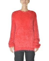 1017 ALYX 9SM Crewneck Knit Jumper - Red