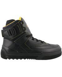 Fendi Basketball High-top Sneakers - Black