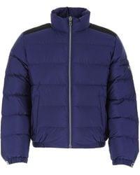 Prada Nylon Down Jacket Uomo - Blue