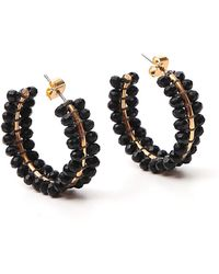 Isabel Marant Imani Earrings - Only One Size / Black