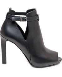 MICHAEL Michael Kors Open-toe Heeled Sandals - Black