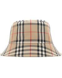 Burberry Vintage Check Bucket Hat - Multicolor