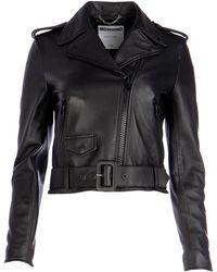 Moschino Biker Jacket - Black