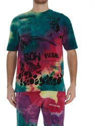 Mauna Kea Manifesto Print T-shirt - Multicolour