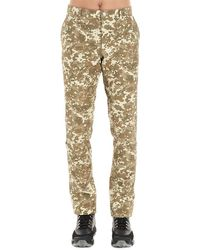 Burberry Camouflage Effect Pants - Green