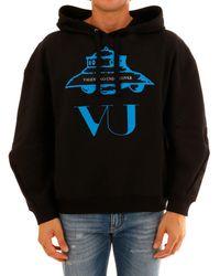 Valentino X Undercover Ufo Printed Hoodie - Black