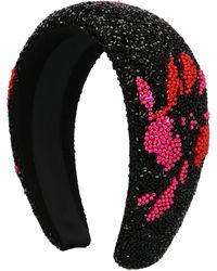Ganni Beaded Hair Band - Multicolour