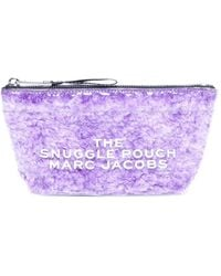 Marc Jacobs The Snuggle Pouch Make Up Bag - Purple