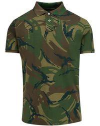 Polo Ralph Lauren Camouflage Polo Shirt - Green