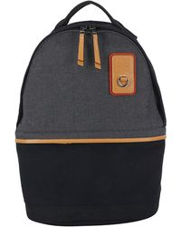 Loewe Zipped Logo Patch Backpack - Multicolour