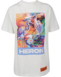 Heron Preston Graphic Print T-shirt - White
